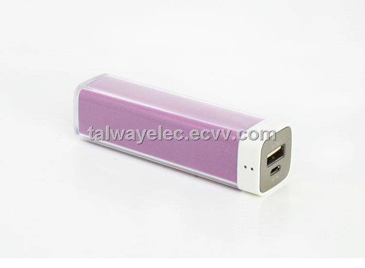 Pb002 Fashionable Lipstick Power Bank With 2 200mah