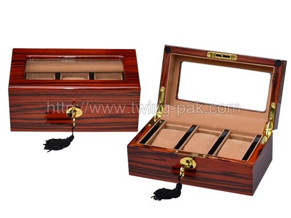 personalized luxury mens wooden watch box zebra wood for rolex wb personalized luxury mens wooden watch box zebra wood for rolex