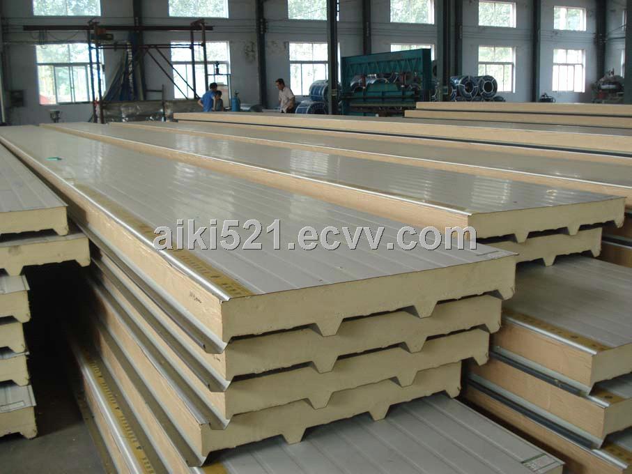 Polyurethane Sandwich Panel : Polyurethane sandwich panel metal pu pir roof