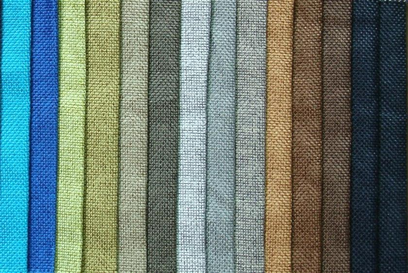 Curtain linen fabric