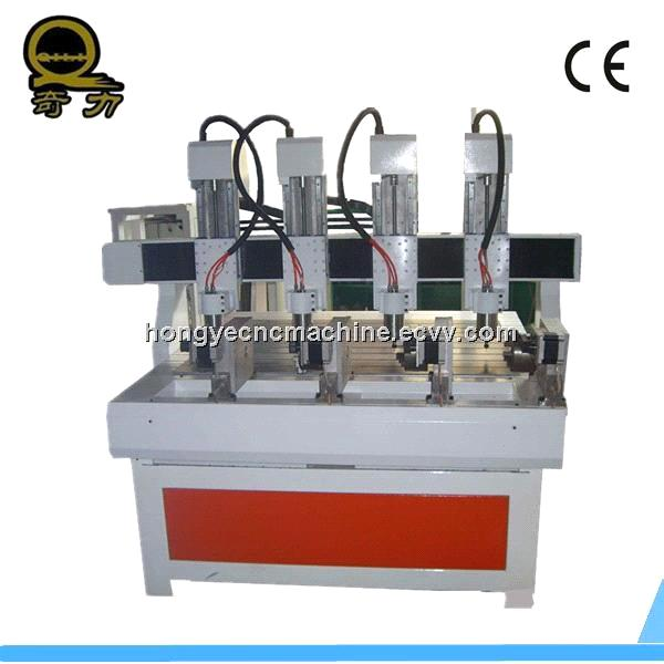 Cnc Router With Pneumatic Tool Changer Wood Engraving