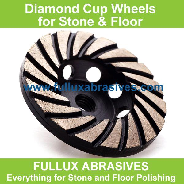 Diamond Cup Grinding Wheels for Stone and Concrete Floors