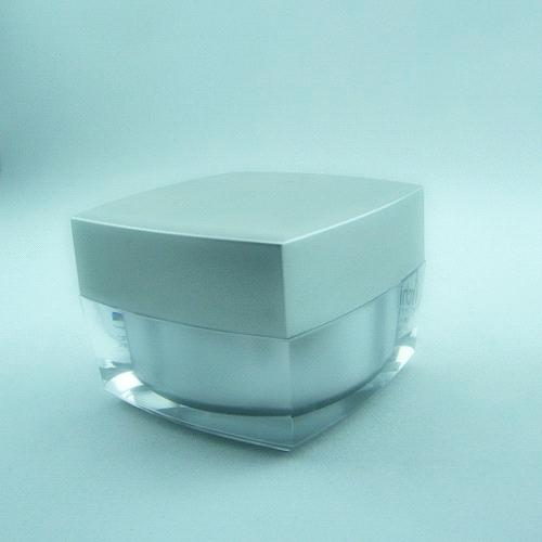 Plastic acrylic jar 50ml 100ml 200ml for cosmetic personal care