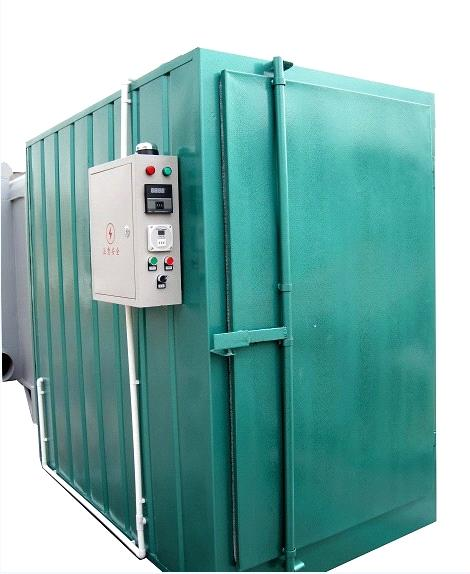 Powder coating line curing oven purchasing souring agent for Paint curing oven