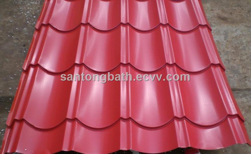 Color Coated Sheet Galvanized Roofing Sheet Roofing