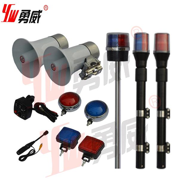 Motorcycle Police Siren Horn Speaker Warning Light From