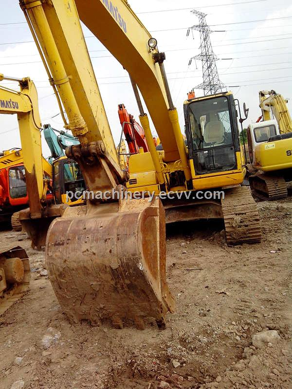 used PC200-7 KOMATSU crawler excavator/used excavator/used japan excavator