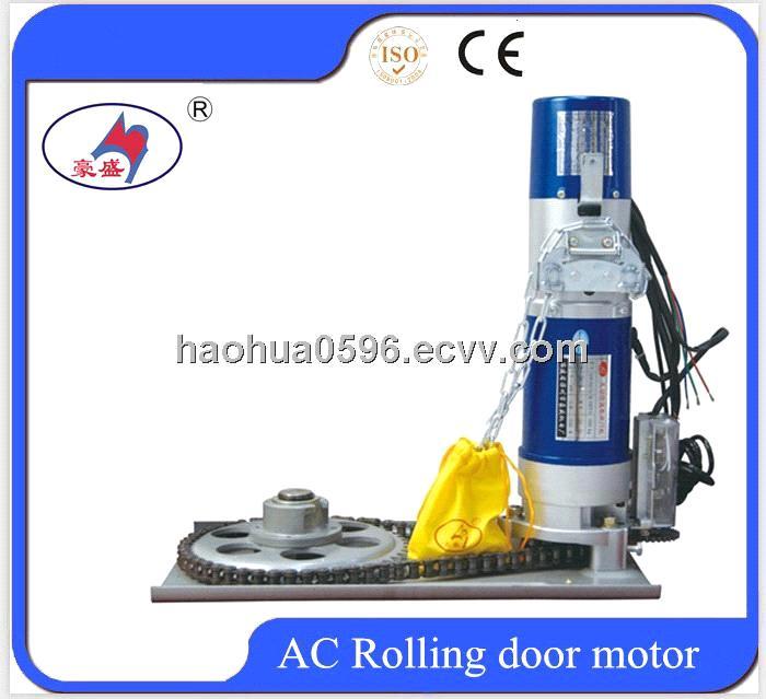 Ac 300kg chain drive rolling door motor roller shutter for Rolling shutter motor price