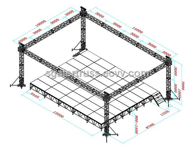 cheap truss china aluminum stage truss system truss design