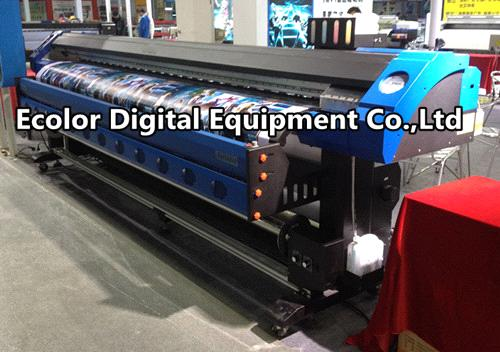 Eco Solvent Printer, 1440dpi*1440dpi outdoor and indoor, high definition digital printer