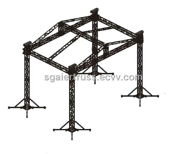 Event truss performance truss project guangzhou exhibition truss