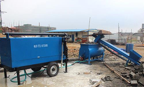 foamed concrete machine