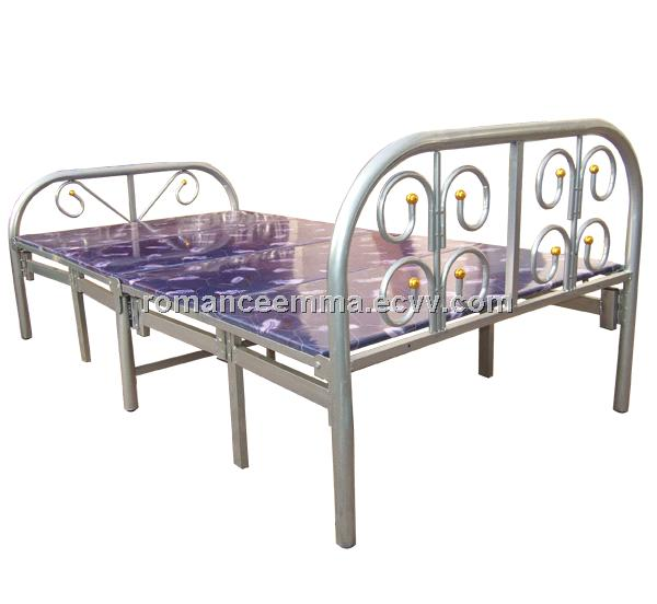 Metal Folding Bed Single Folding Bed For Qatar And Dubai Market Purchasing Souring Agent