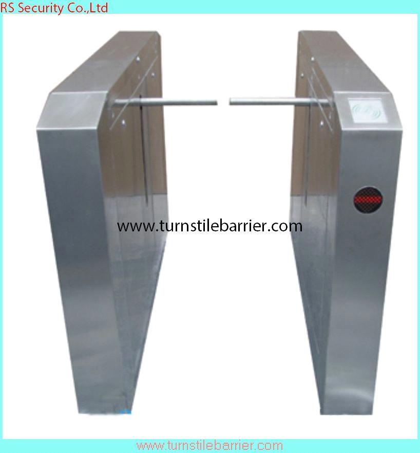Rfid scanner drop arm automatic tripod turnstile