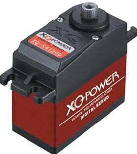 Servo motor xq power high voltage digital servo xq s4120d for High power servo motor