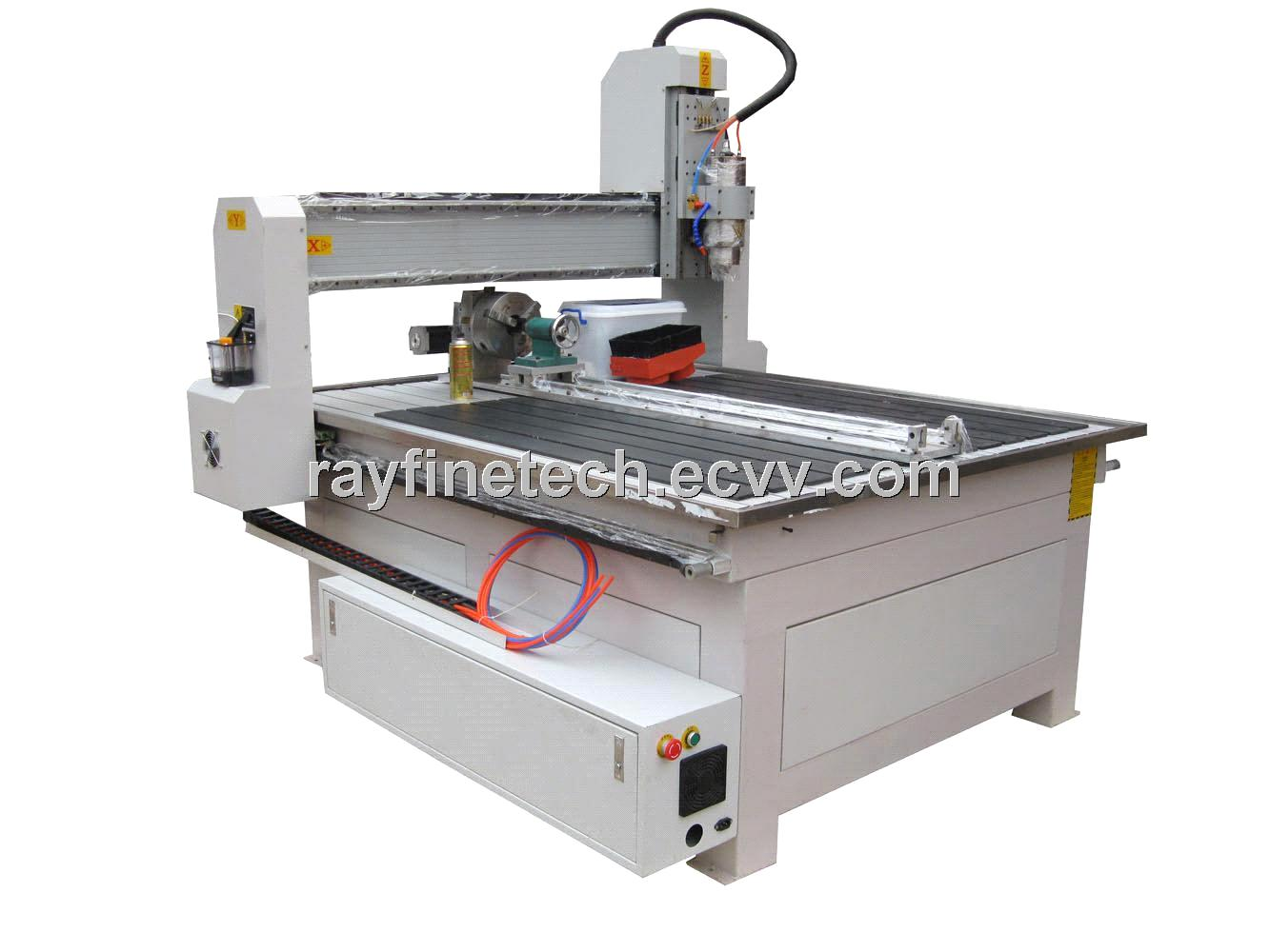 Axis wood mdf plywood cnc cutting router machine rf