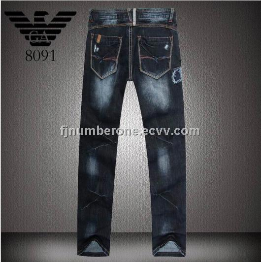armani jean black cheap designer mens jeans online male