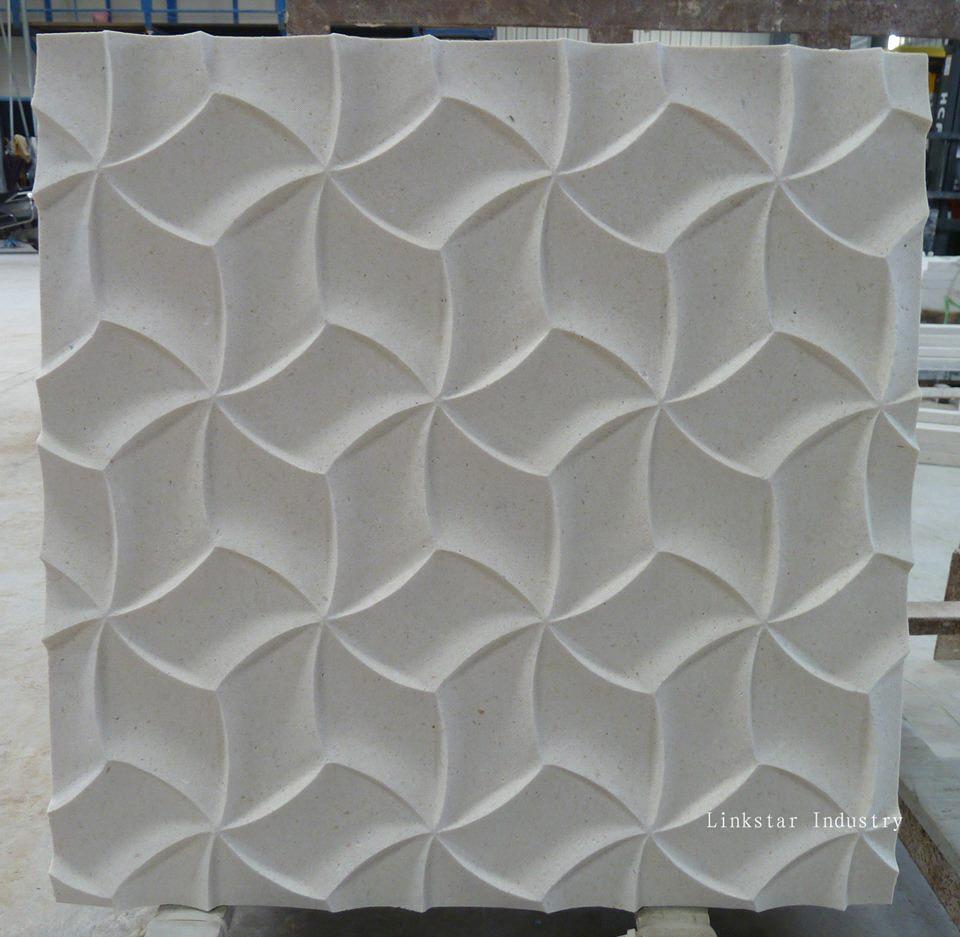 3d Cnc Interior Design Stone Wall Panels Purchasing