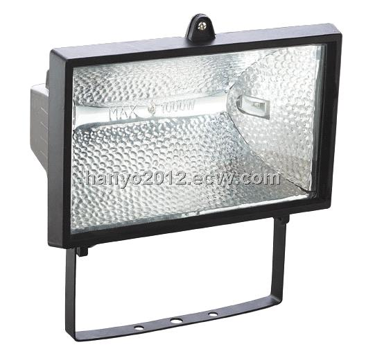 750W Or 1000W Halogen Lamp Outdoor Light Floodlight R7s