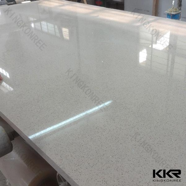 Ce Approved Engineer White Artificial Quartz Stone Kitchen