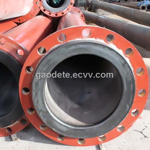 Flexible Pipe For Bladder Lining : Plastic lining tailing conveying pipe purchasing souring