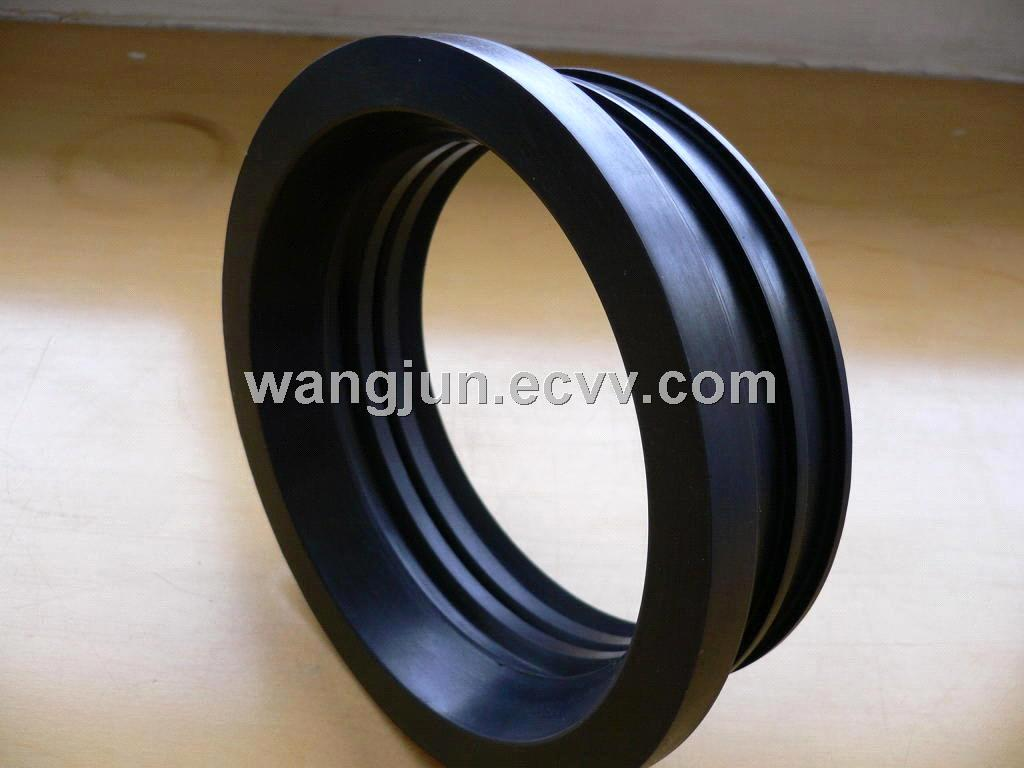 Cast iron soil pipe gasket no hub coupling service weight