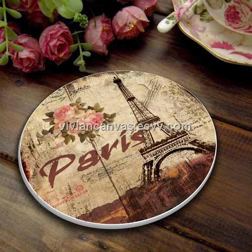 Diameter 11 8 Round Cup Coasters Ceramic Tea Mat Coffee