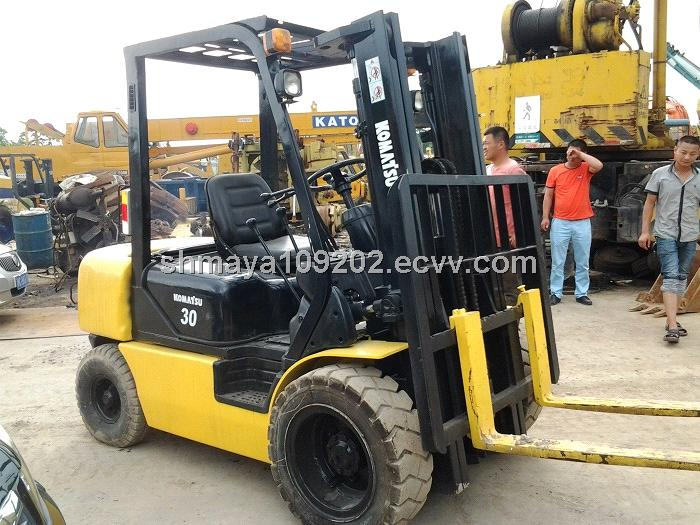 Used forklift Komatsu FD30T-17 / Komatsu 3ton Forklift