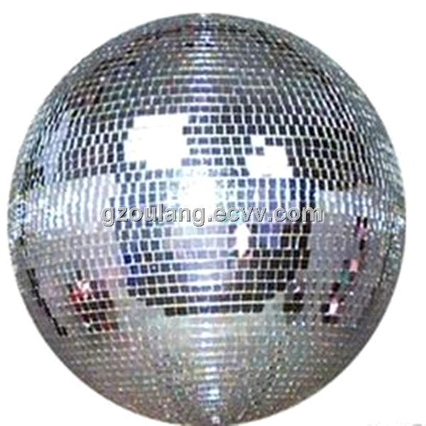 Stage decorative disco lights mirror ball solid glass