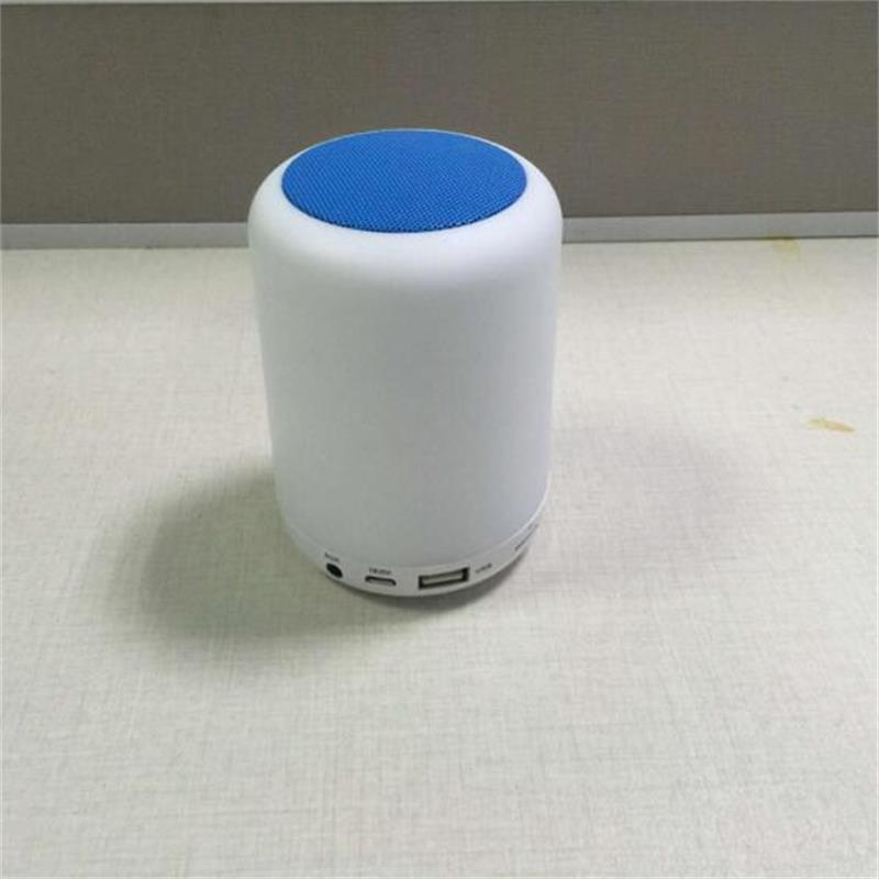 LED Bluetooth Speaker Portable Wireless MINI Hands Free Subwoofer TF USB FM Mic Music Speakers Night Light For Car Phone iphone