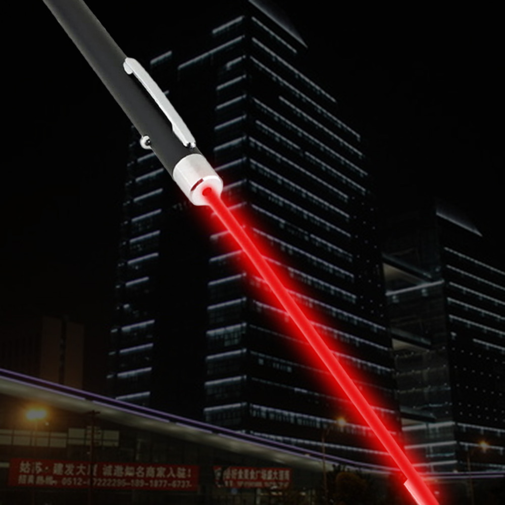 ICOCO 2017 1 pcs High Quality Ultra Powerful Professional Red Laser Pointer Pen Beam Light 1mW 650nm Presentation Lamp Wholesale