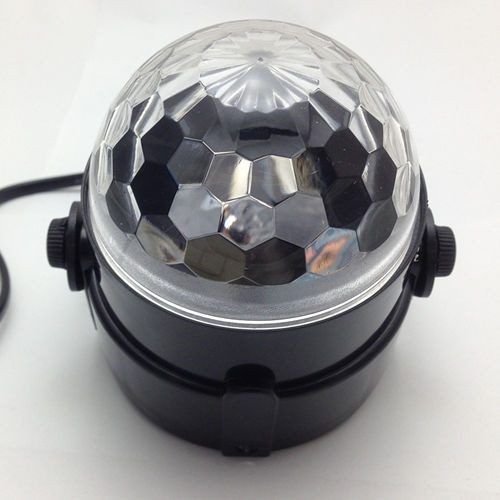 Mini 3W RGB LED Crystal Magic Ball Stage Effect Lighting Disco Light luzes para festa luces ...