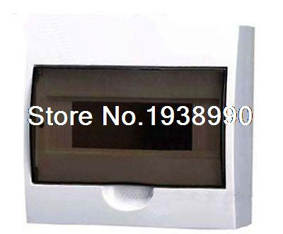 10 Way Enclosure  Plastic Residence Surface Mounted Distribution Box Switchboard