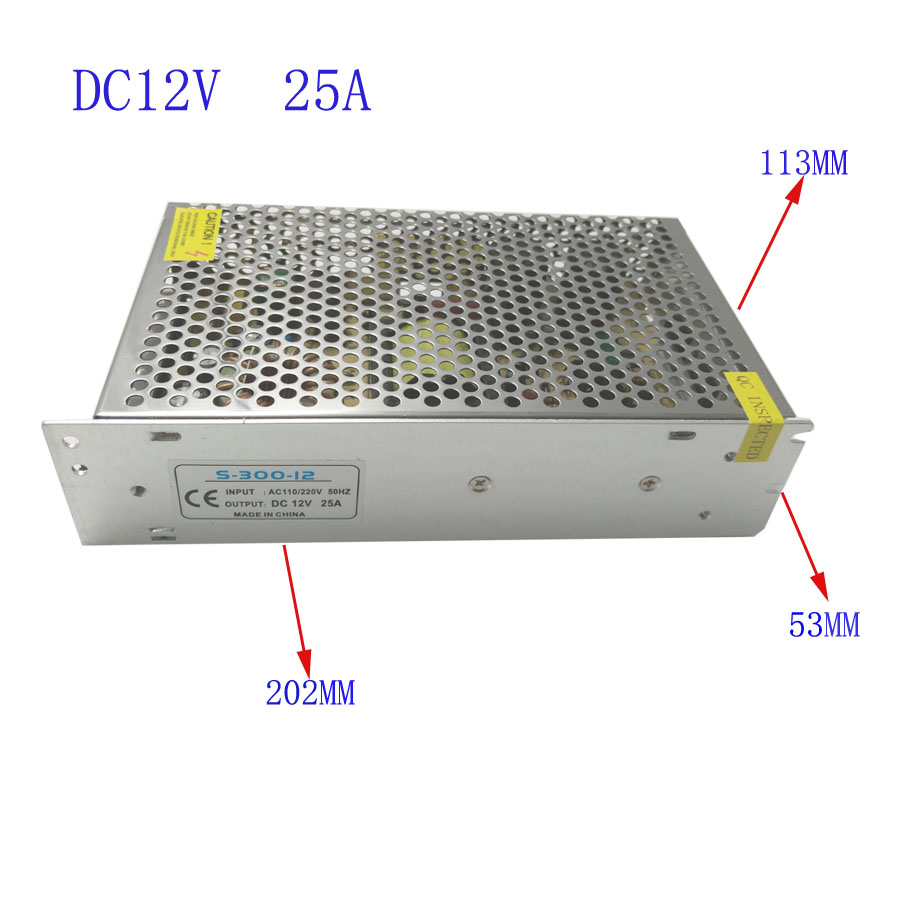 LED transformer DC12V15W2A 3A 5A 10A 15A 25A 30A 33A indoor power supply for adapter