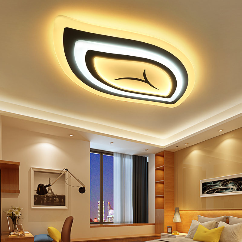 Tree leaf acrylic modern LED chandelier for living room bedroom led modern lighting RC dimmable
