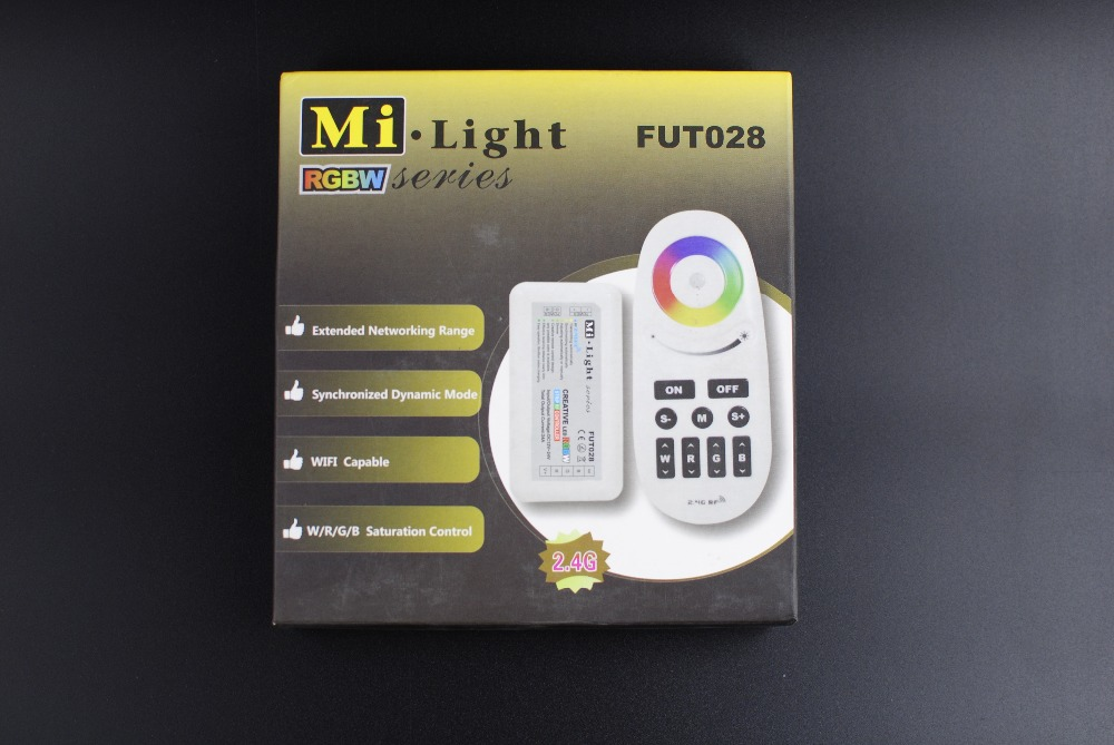 Mi -Light Controller 2.4G RF DC12v/24v 6A/Channel  Wireless Touch Panel Color For LED RGB/RGBW Strip Cheap