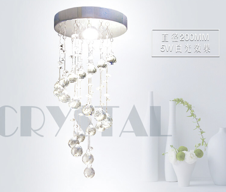 2017 New Manufactory Crystal Chandelier Lamp Luxury Crystal Fixture Hanging Lusters Lustres De Cristal Lustres Led 5W