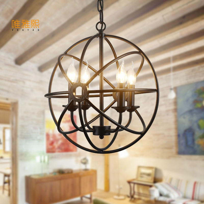 led lights for home lustre lampshade chandelier iron modern  chandeliers american style  indoor lighting fixture