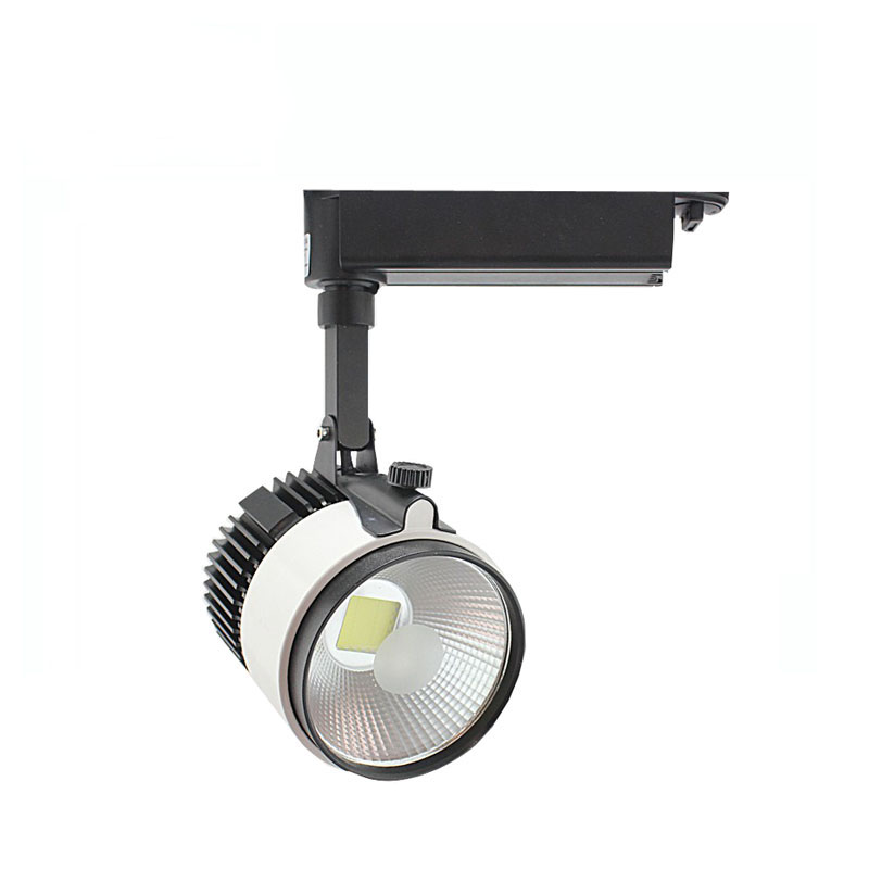 10X High quality 50W integrated COB LED track light 85-265V input express free shipping