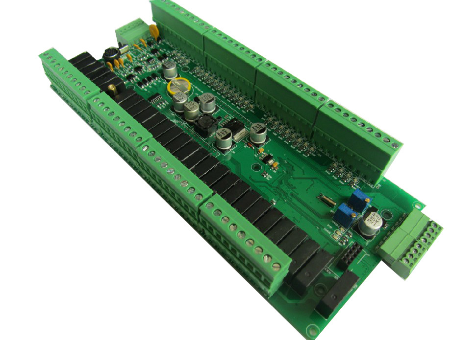 PLC programmable controller  FX2N 56MR 28 into 28 relays out  RS232 and RS485 Relay PLC