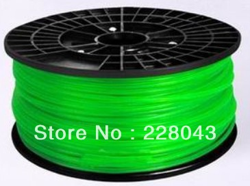 ABS Filament  White 1.75mm Luminous for RepRap Makerbot Ultimaker Mendel Huxley Hot Sale