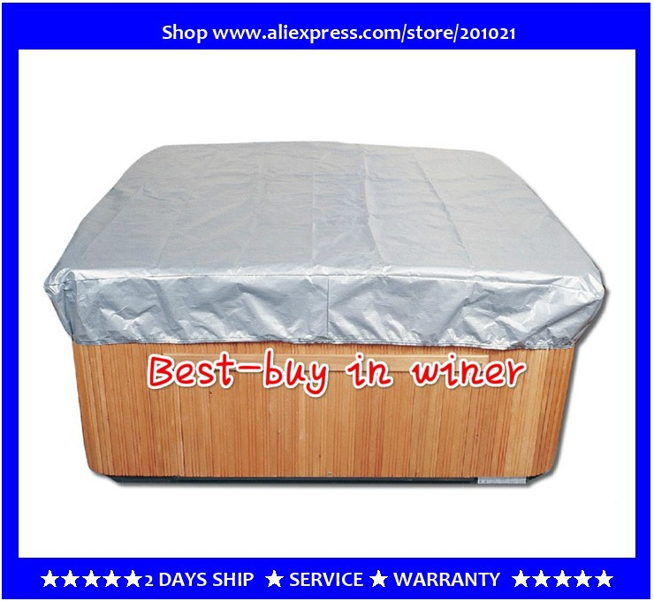 "hot tub smart Spa Cap Size:213cm x 213cm x 30 cm ( 7' ft. x 7' ft. x 12"" in. ) Lowest price spa cover bag Jacket"