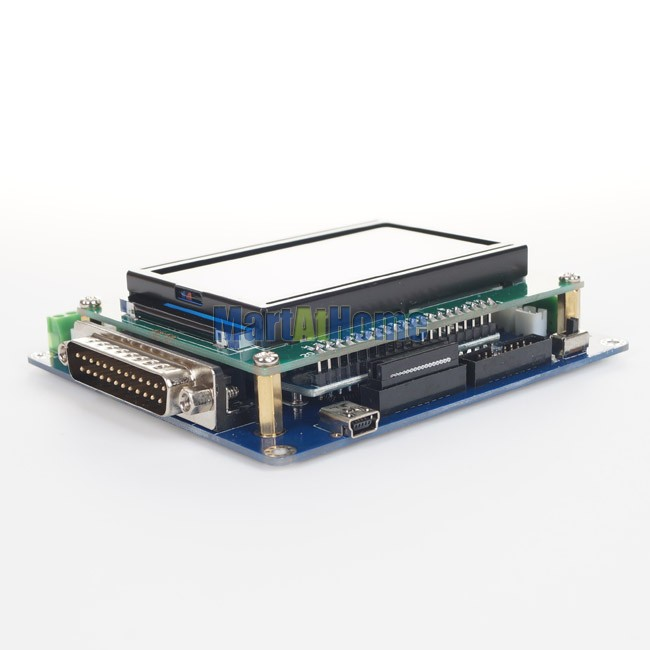 Intelligent 5 Axis CNC Breakout Board Interface w/ LCD Digital Display Support Mach3/EMC2/KCAM4 #SM613 @SD