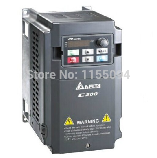 VFD055CB43A-20 Delta VFD-C200 inverter AC motor drive 3 phase 380V 5.5Kw 7.5HP 12A 600HZ new in box