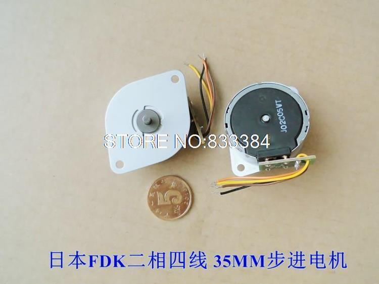 GREAT!! 10pcs FDK 2 phase 4 wire Stepper motor 6V 0.86A 6 ohms stepping motor