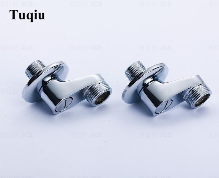 Copper material faucet  Accessories for Shower faucet Chrome Plated adjustable water supply line