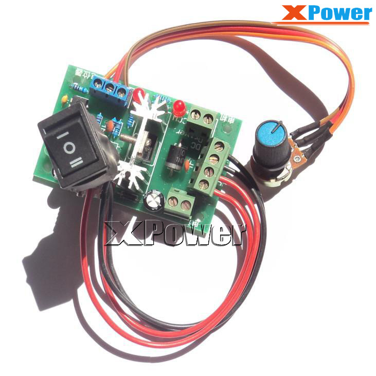 Motor Accessories J809 1 Motor Speed Control Board,Positive and Negative Going Motion,DC Motor Gear Motor Speed Regulation Board