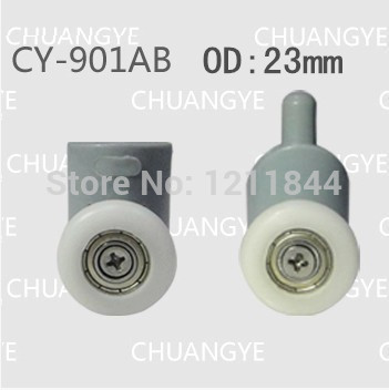 rollers for shower OD :23mm shower room accessories