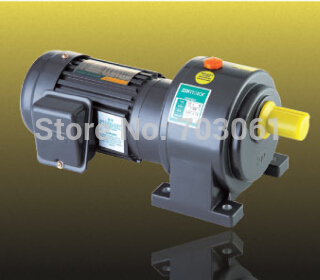 400W shaft diameter 22mm small AC gear motor single-phase motors with 2# gearbox ratio 30 ,220V 60 Hz vertical mounting