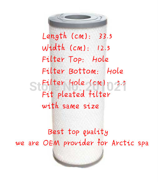 Best-Buy hot tub spa meltblown filter + top quality + OEM for Arctic spa Fit most Chinese & US spa